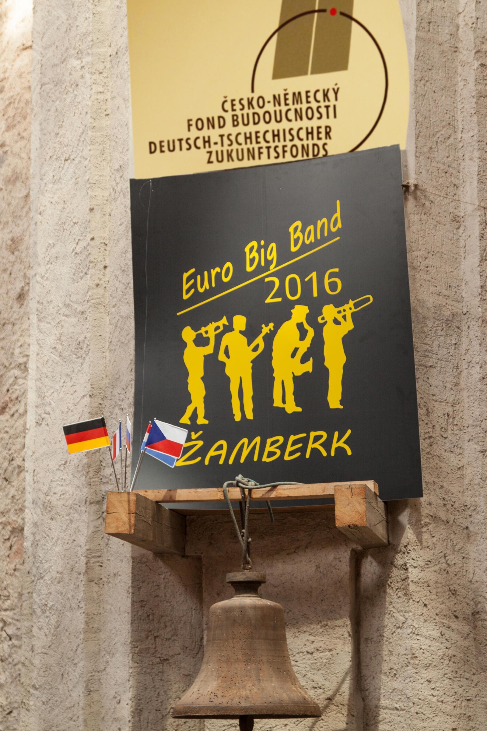 Euro Big band v Neratově 2016