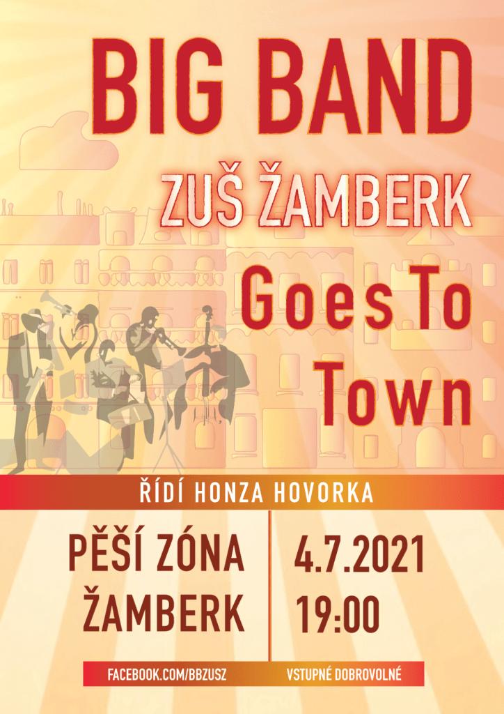 Koncert na pěší zóně 4.7. v 19:00